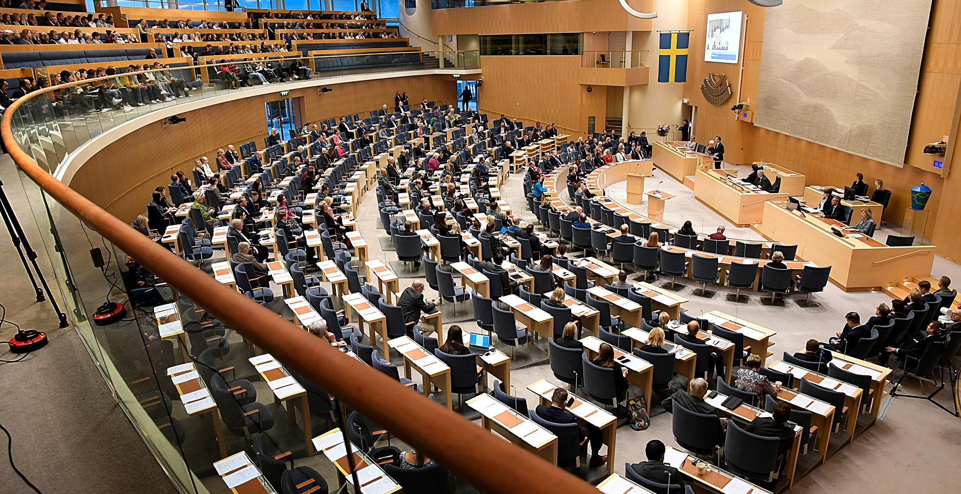 I dag samlades samtliga partier i riksdagen för att utreda den framtida svenska migrationspolitiken.