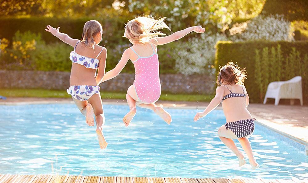 Ha alltid barnen under uppsikt när de är i eller nära vatten.