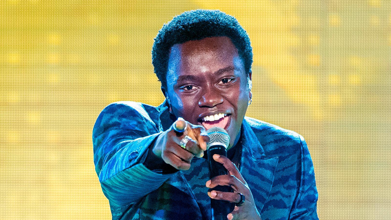 """Tusse Chiza går från """"Idol""""-vinst till Melodifestivalen"""