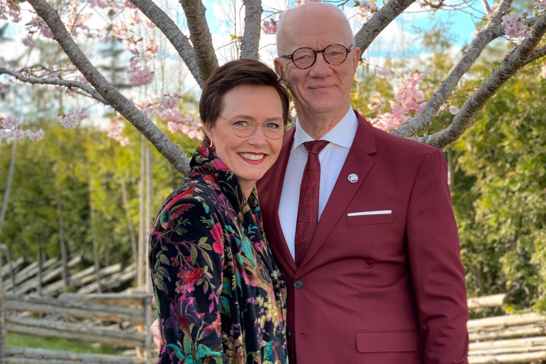 Marie Kühler och Peter Flack.