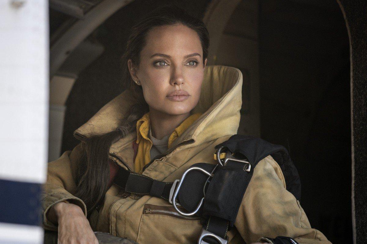 """Angelina Jolie i """"Those who wish me dead""""."""