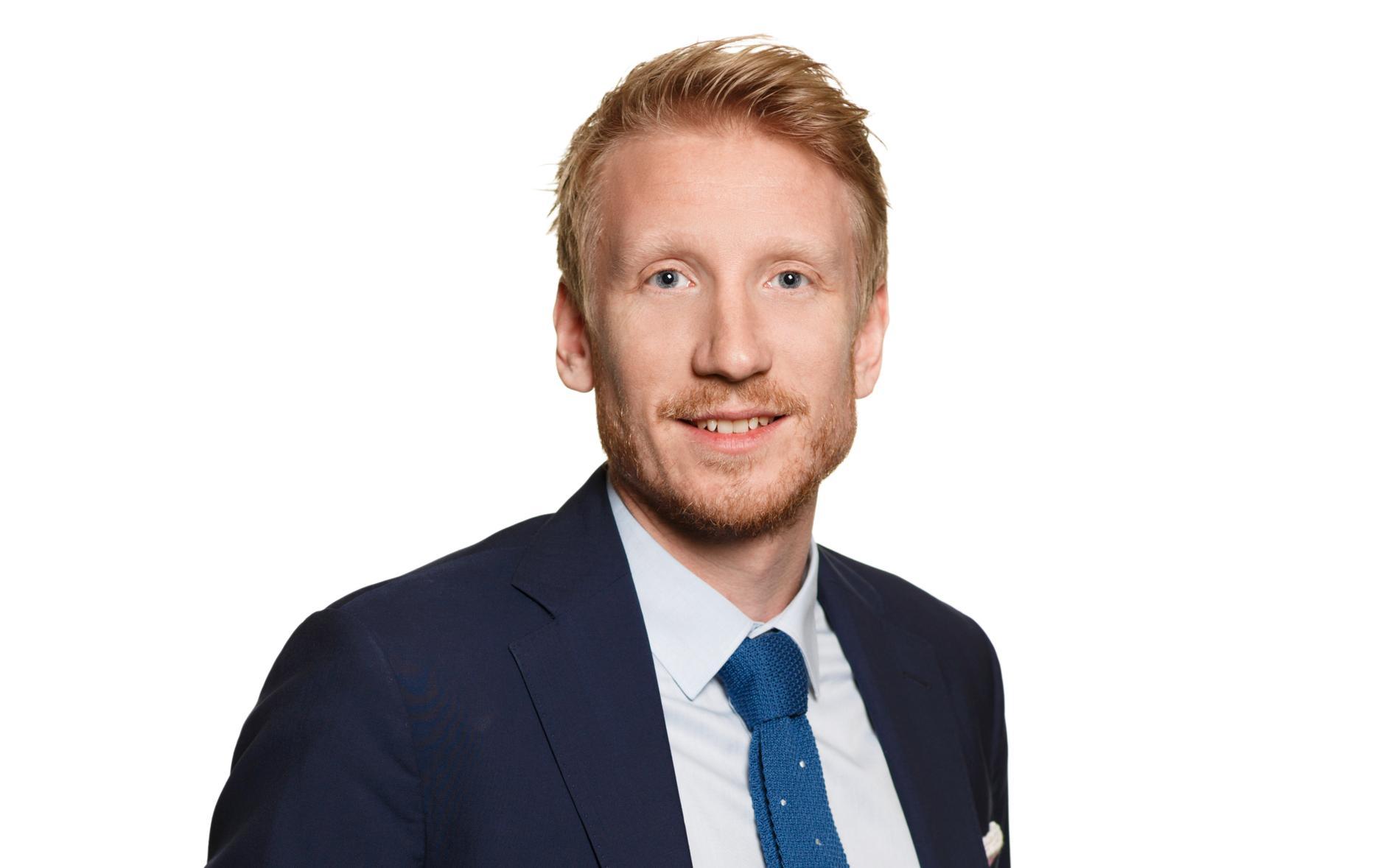 David Erixon, kommunikationschef på Nobina.