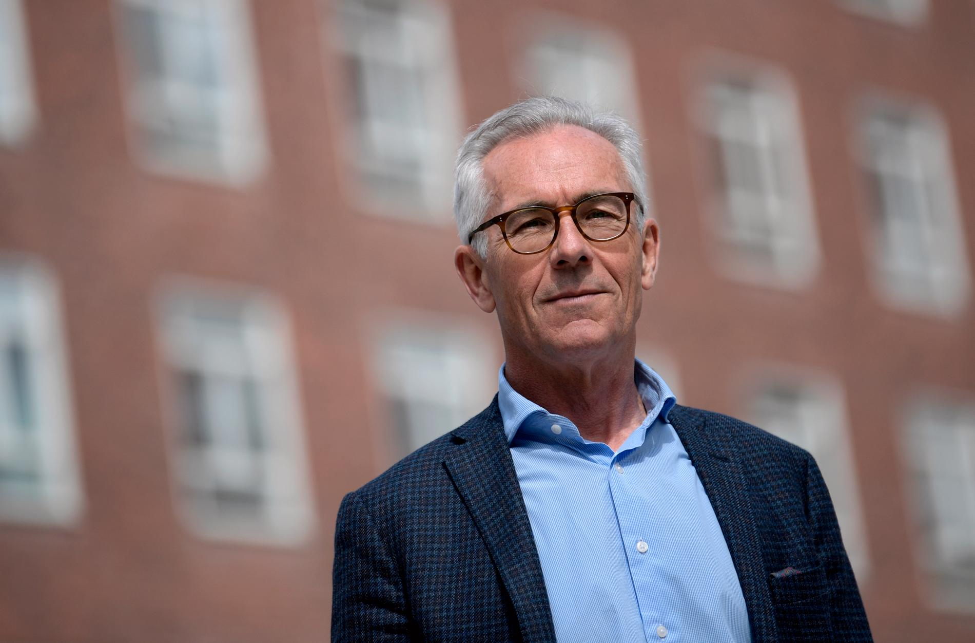 Jan Albert, professor i smittskydd, Karolinska Institutet.
