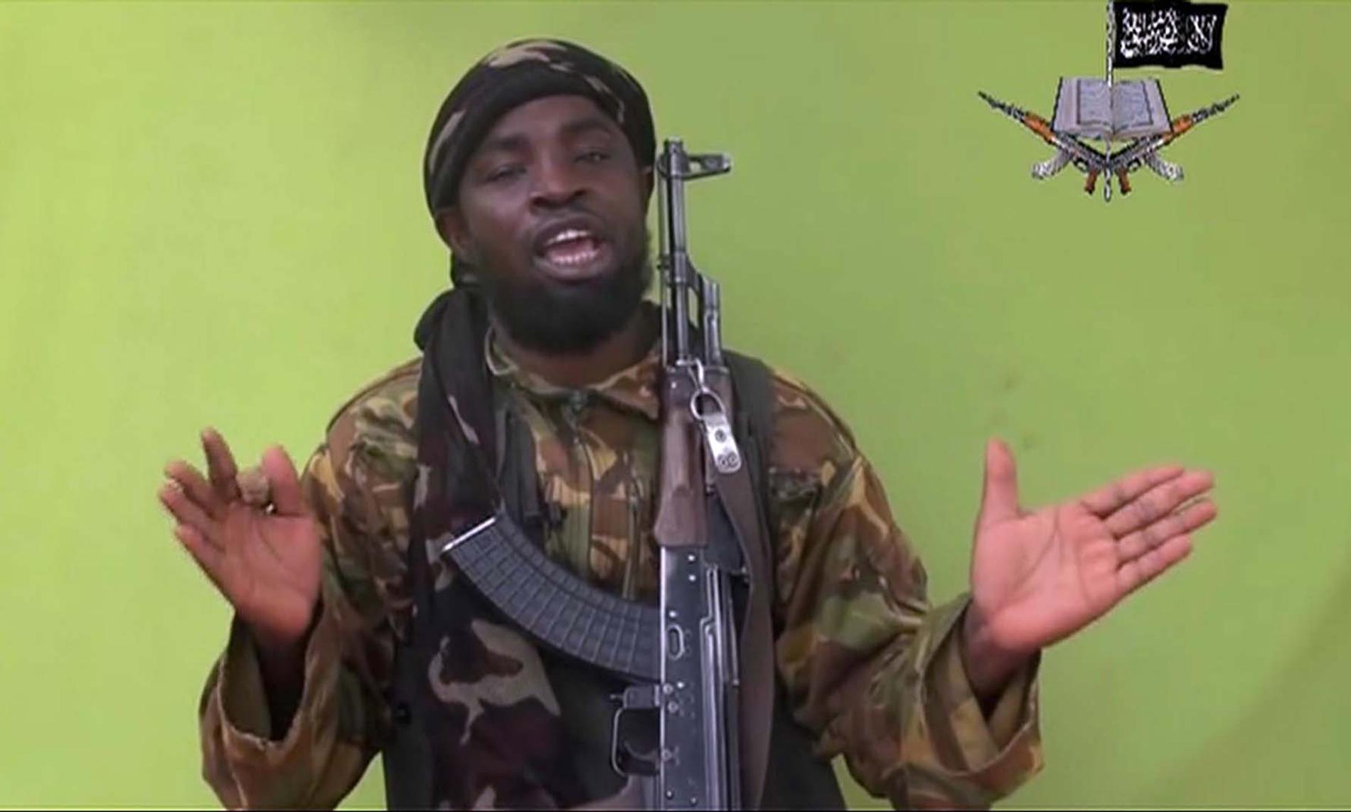 Abubakar Shekau har ryktats vara död flera gånger tidigare, men nu bekräftar terrorgruppen Boko Haram uppgiften. Arkivbild.