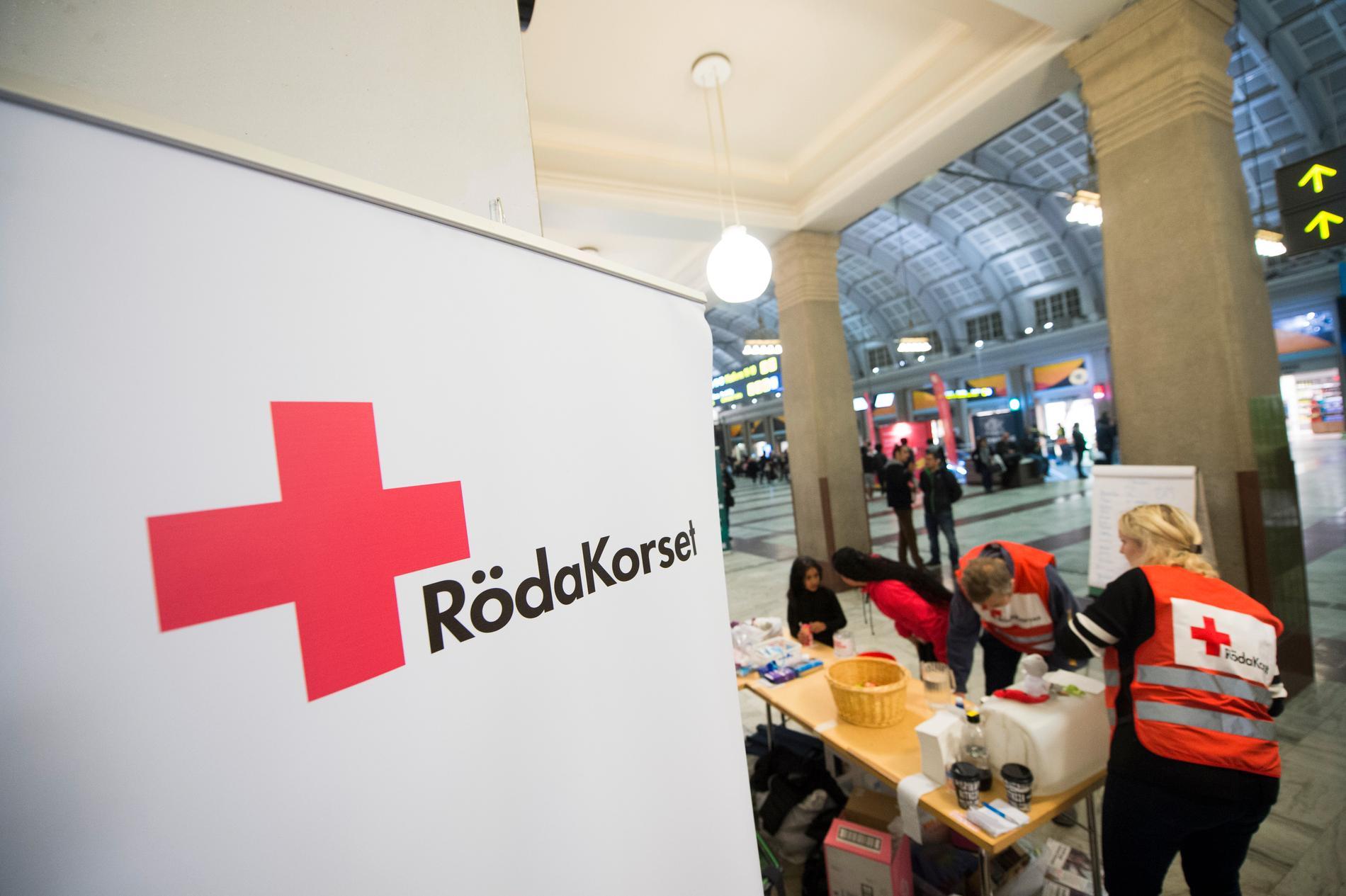 Ett misstänkt bedrägeriförsök har skett på Röda Korsets Facebooksida.