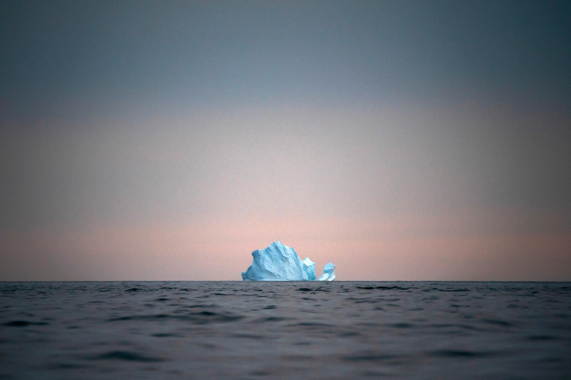 """En """"massiv avsmältningshändelse"""" pågår på Grönland, varnar danska forskare. Arkivbild."""