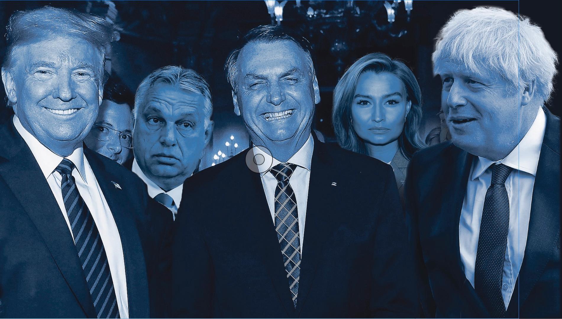 Trump, Orbán, Bolsonaro, Thor och Johnson.
