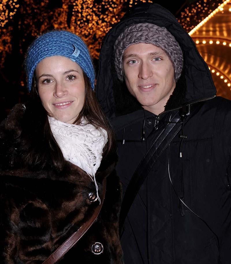 Danny tillsammans med flickvännen Janna Granesjö.