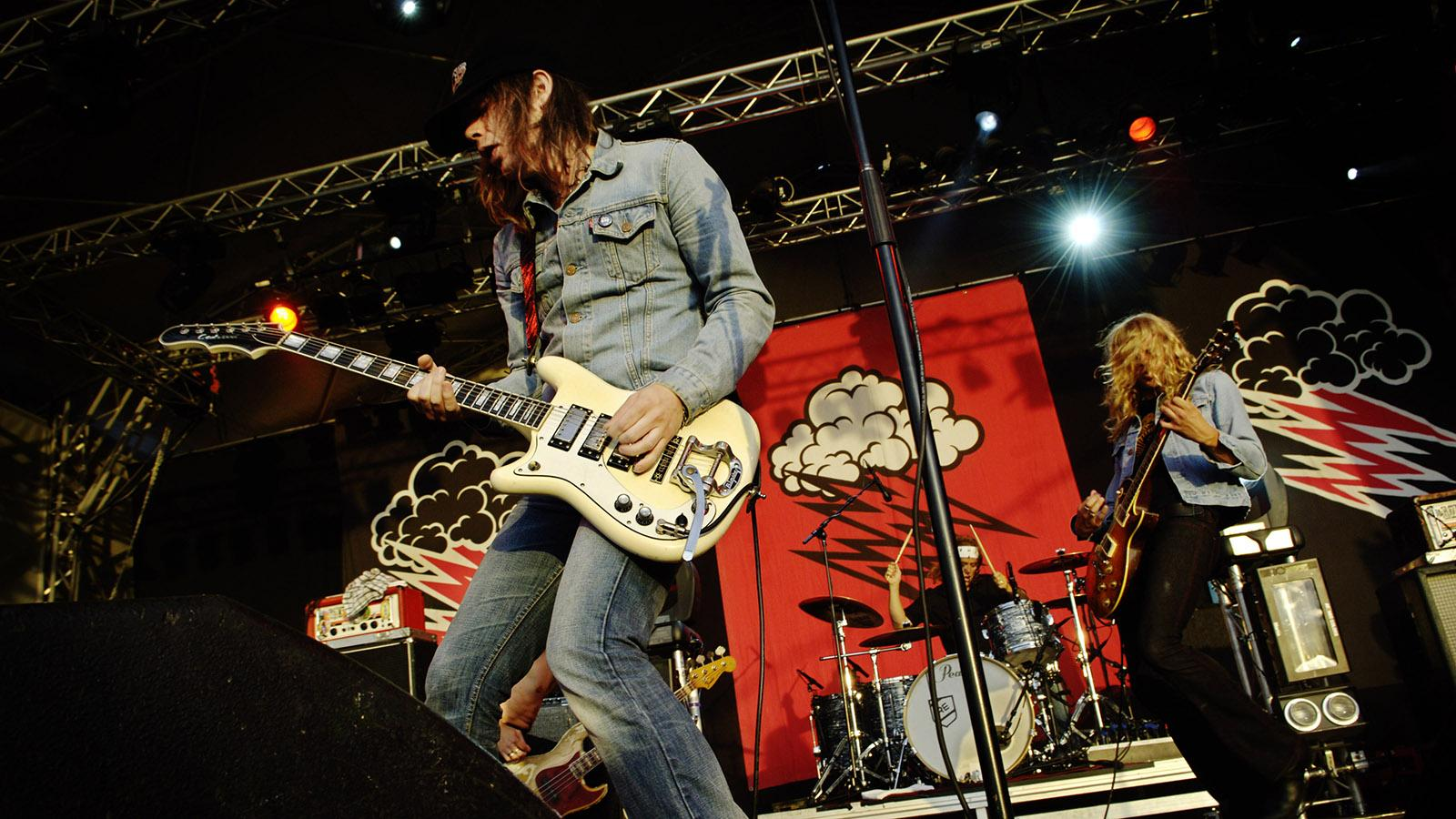 The Hellacopters i Strömstad 2006.