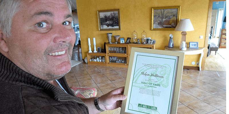 Stefan Hultman blev 2017 invald i Travsportens Hall of Fame