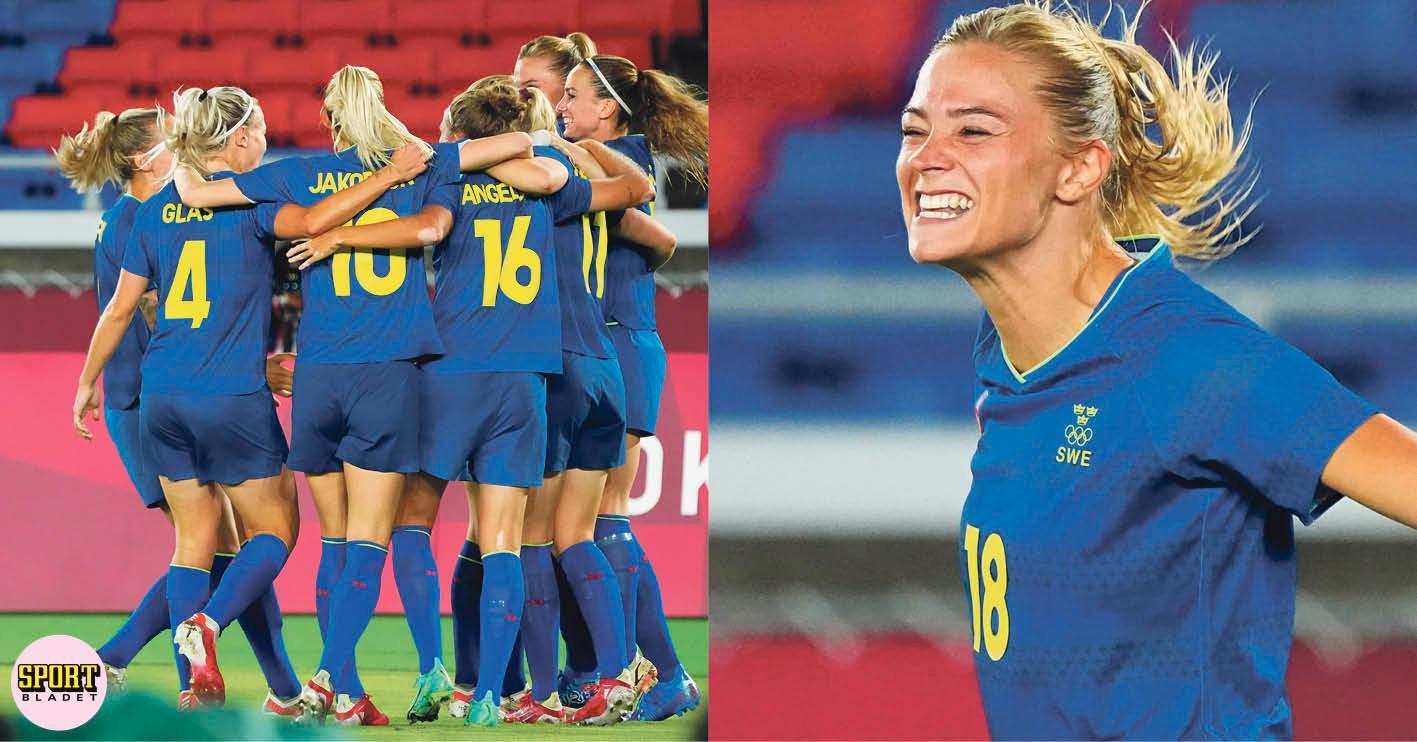 Sverige möter Kanada i OS-final i fotboll 6 augusti kl 04.00.