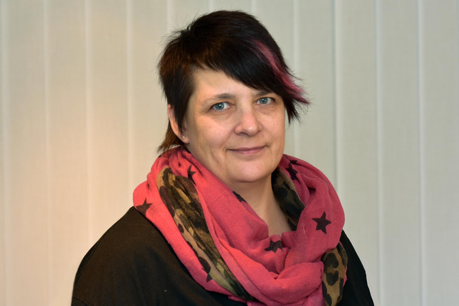 Katarina Wolffram, presskommunikatör på Trafikverket.