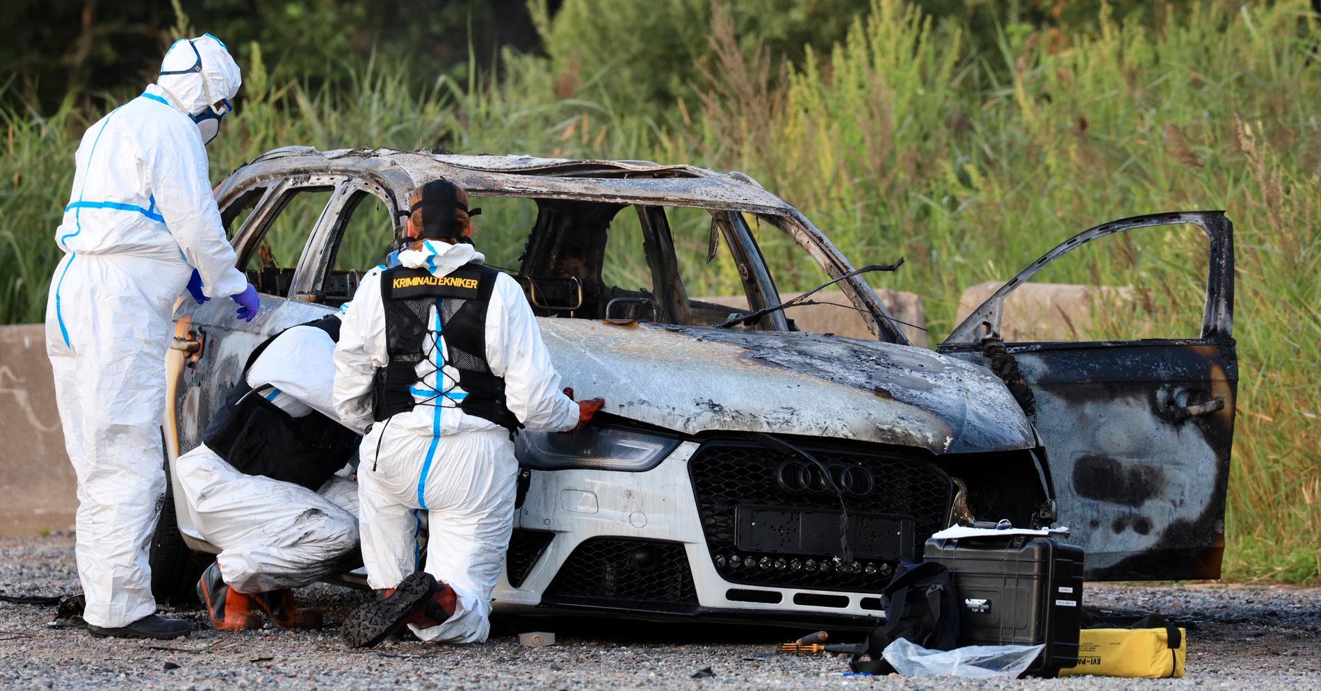Polisen kan ha hittat bilen från dödsskjutningen