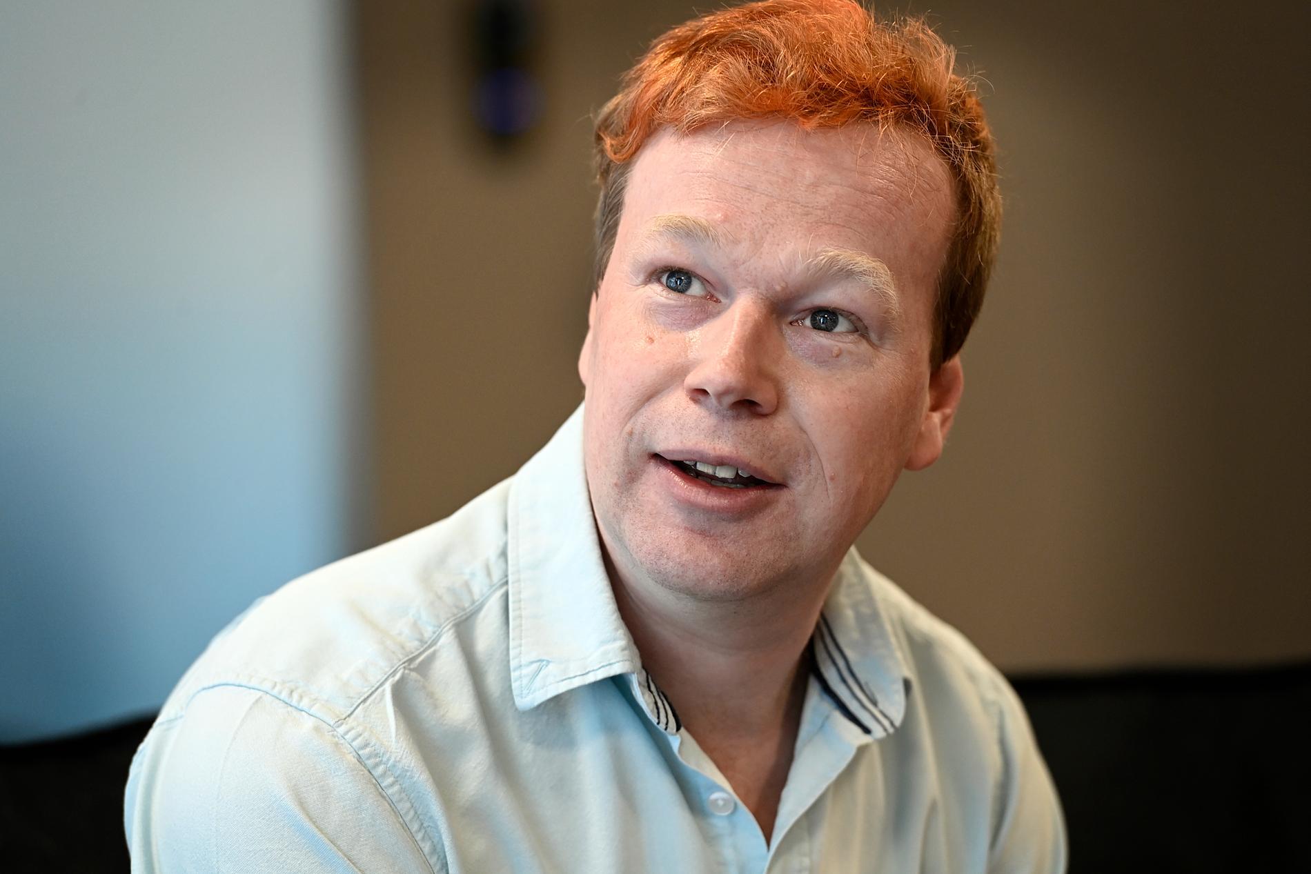 "Johan Glans är aktuell i Viaplays ""Home invasion""."