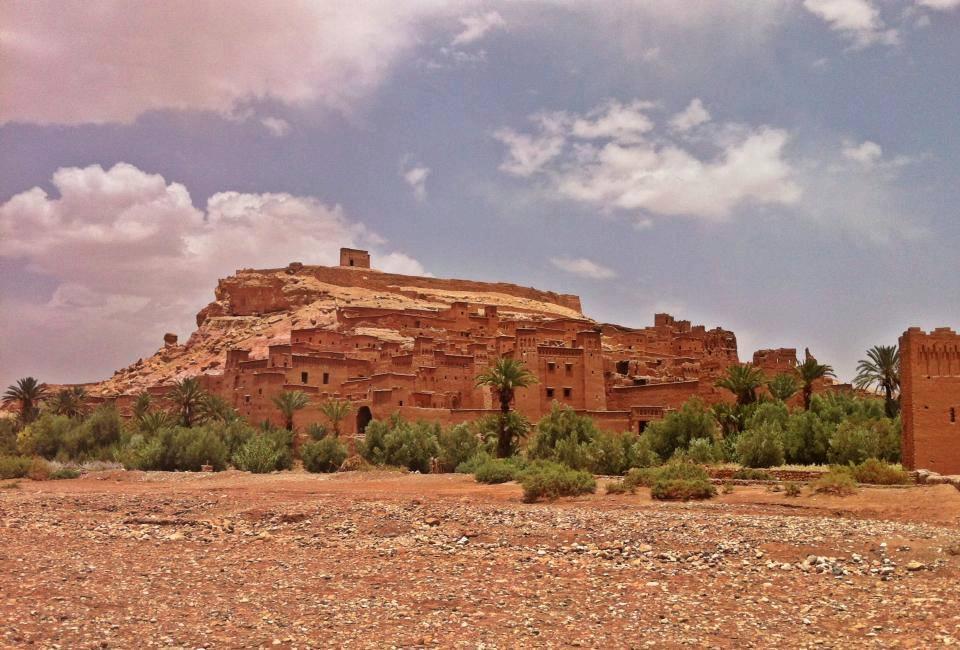 Utanför staden Ouarzazate ligger Air ben Haddou.