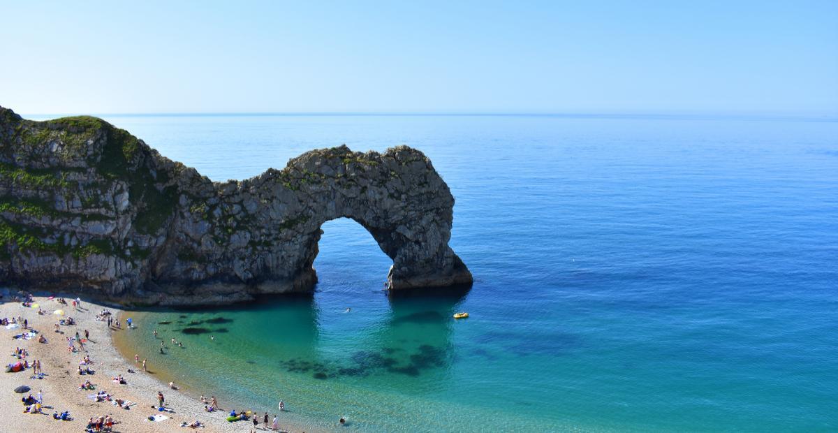 Durdle Door Beach, Dorset, England