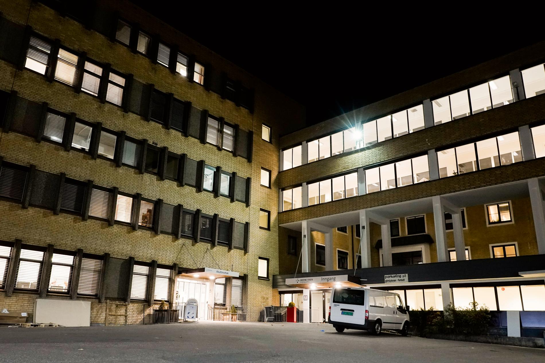 Sjukhuset i Kongsberg.