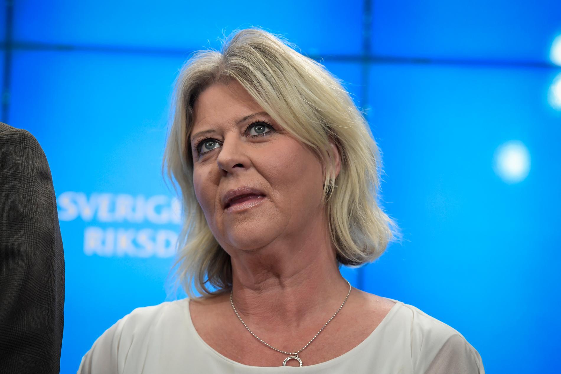 Camilla Waltersson Grönvall är Moderaternas socialpolitiska talesperson. Arkivbild.