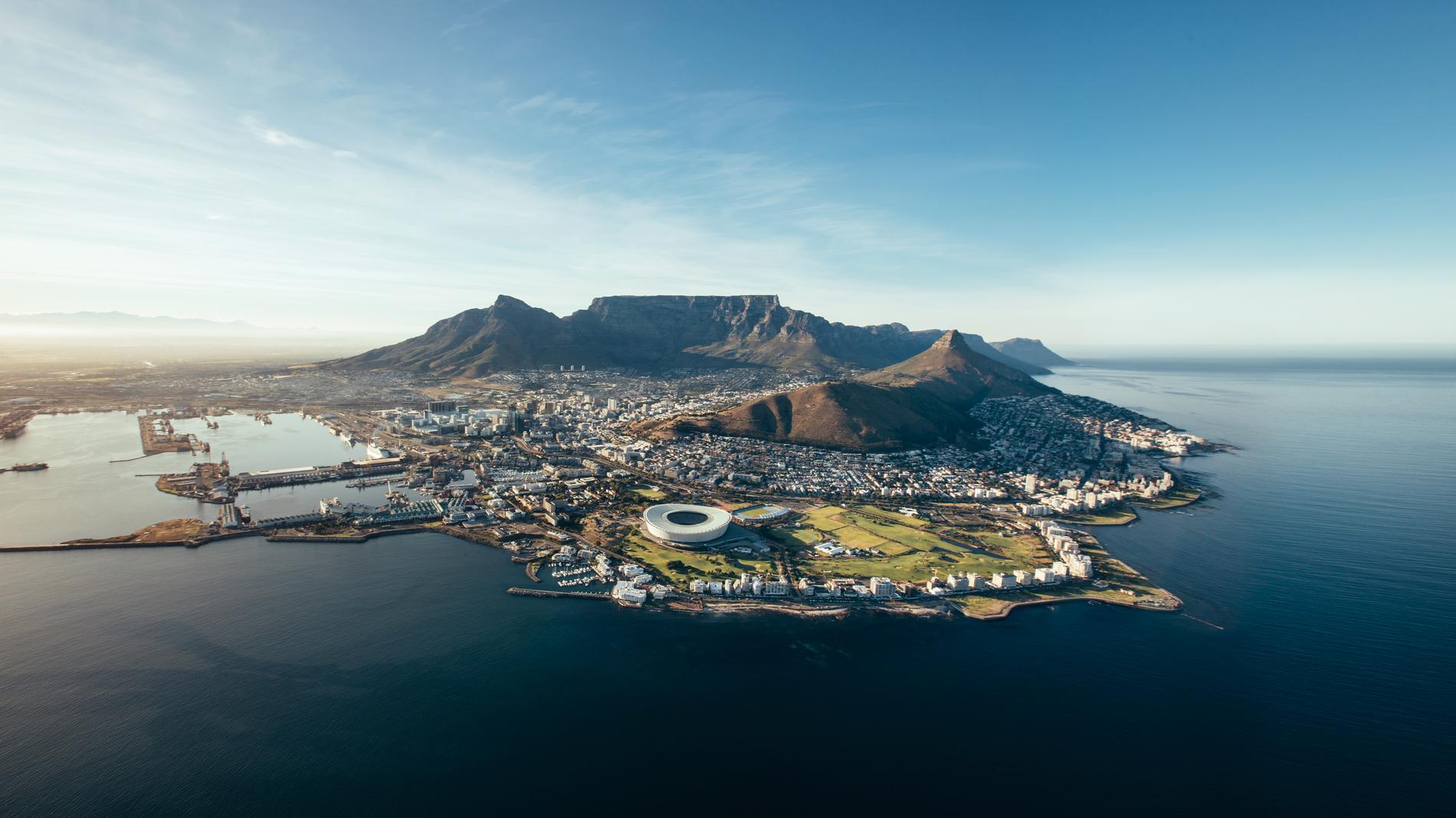 Kapstaden är två städer i en.