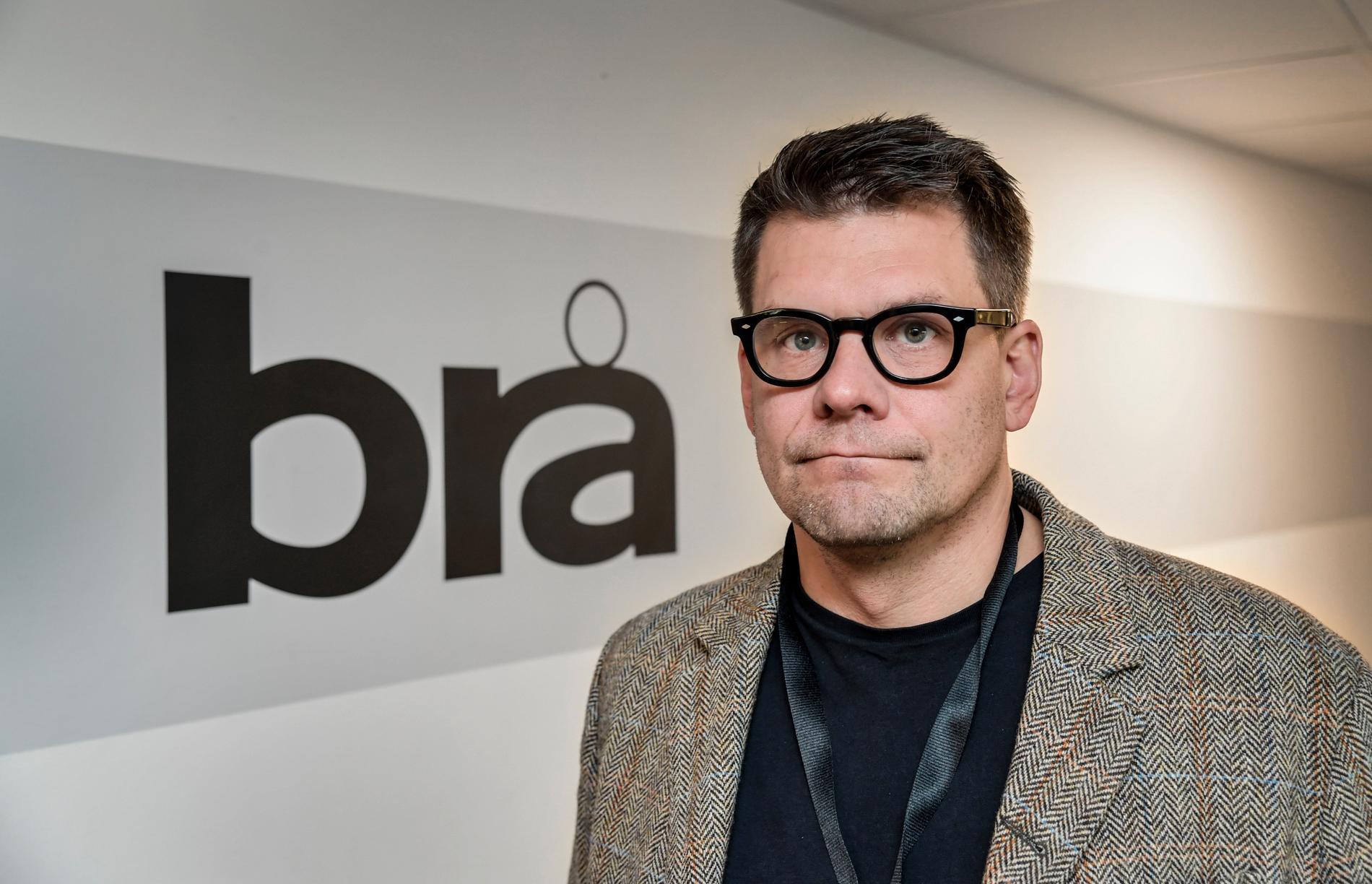 Jonas Trolle, ny chef för Center mot våldsbejakande extremism vid Brå.