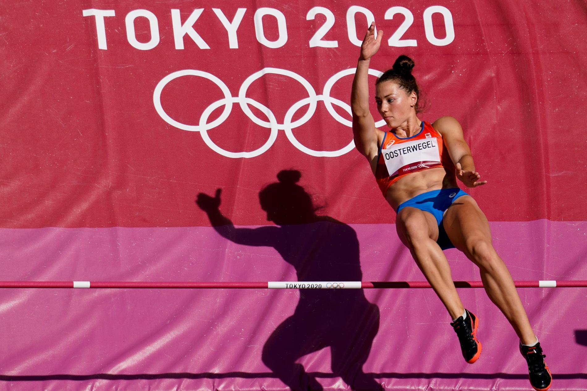Emma Oosterwegel under Tokyo-OS.