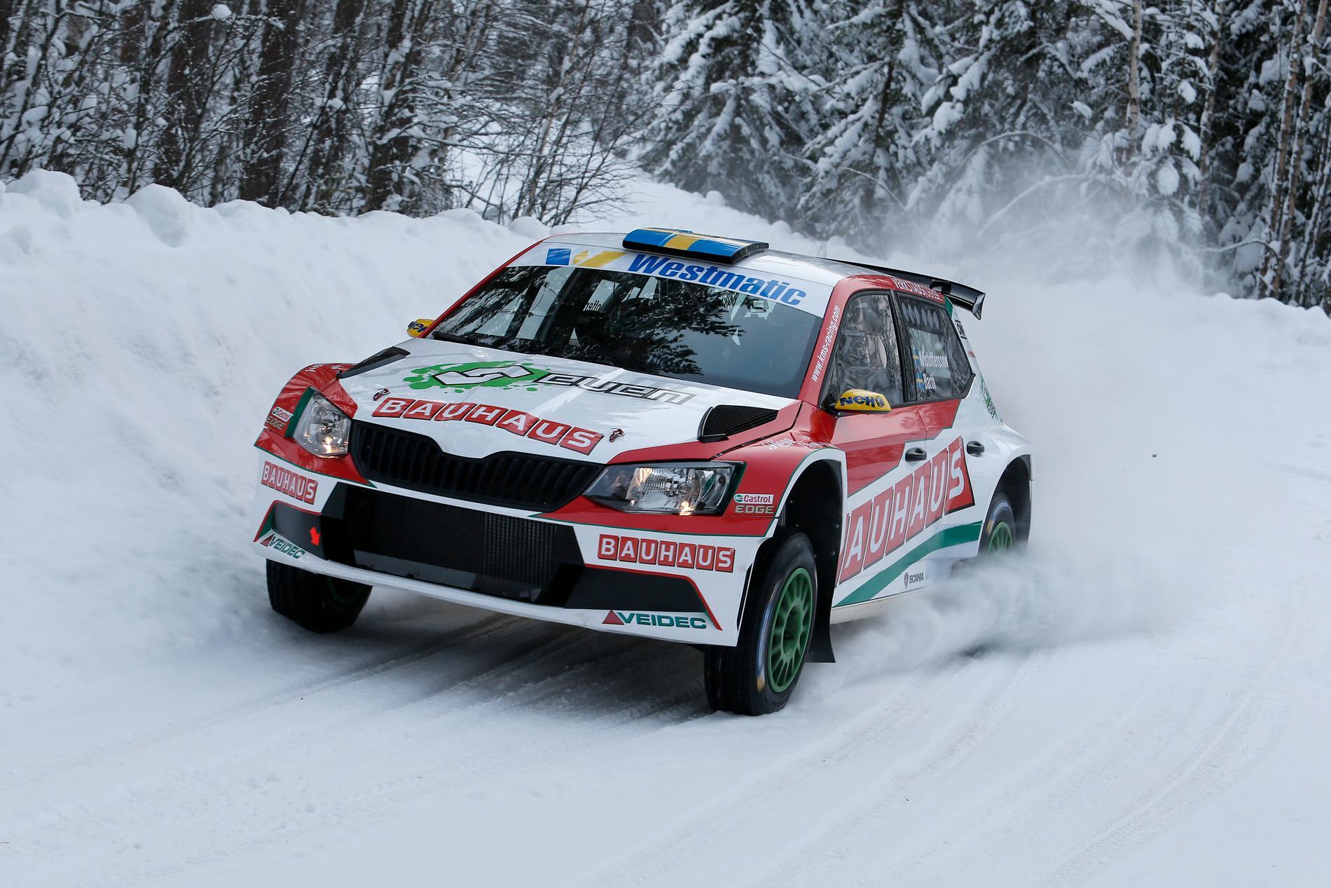 Johan Kristoffersson i Rally Sweden 2018, här får du alla tider för radio och TV i Svenska Rallyt 2019.