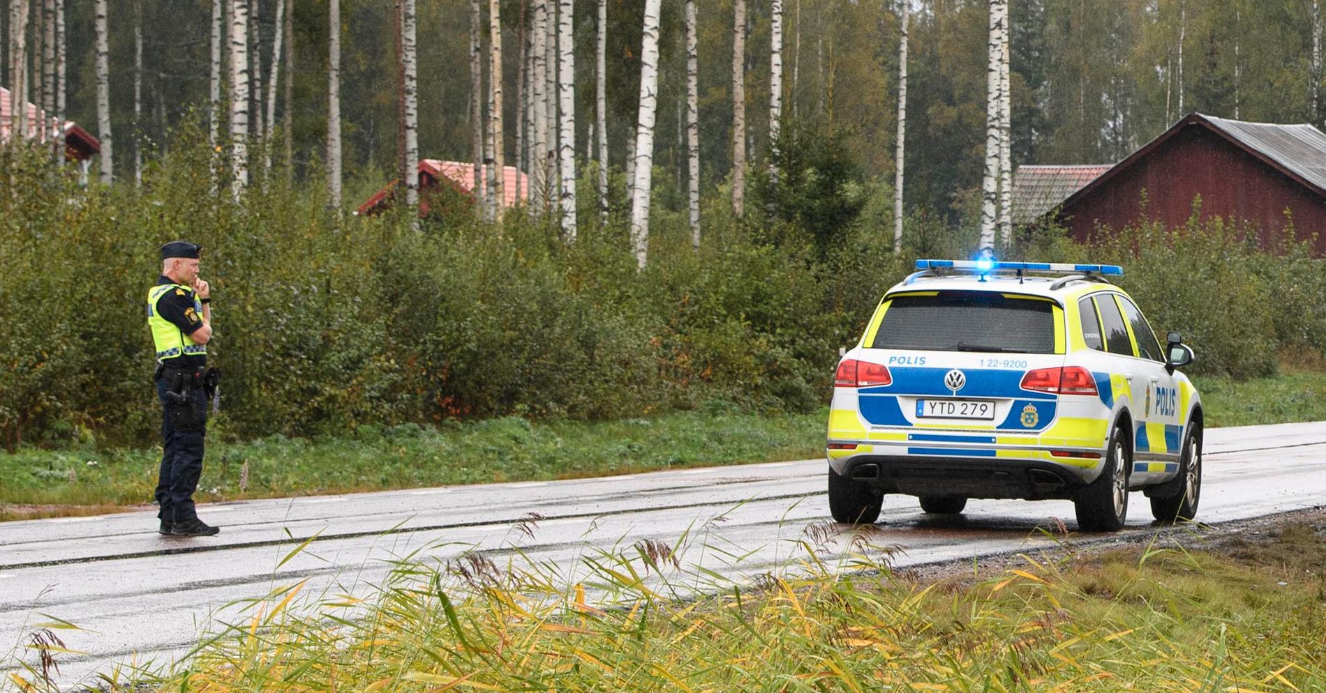 Olyckan inträffade på E45 i Sunne kommun.