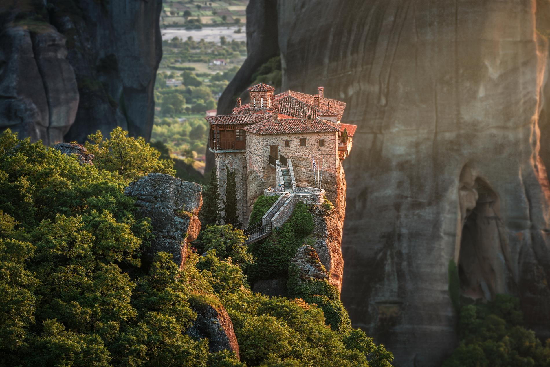I Meteora har det funnits ännu fler kloster än de som är aktiva i dag.