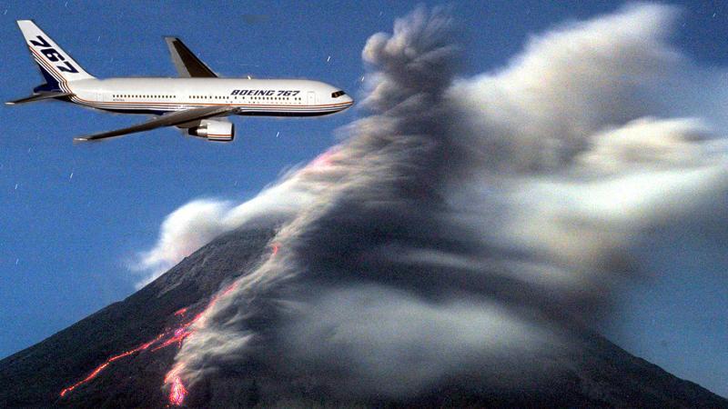 OBS! MONTAGE (planet och vulkanen har inget samband med artikeln)