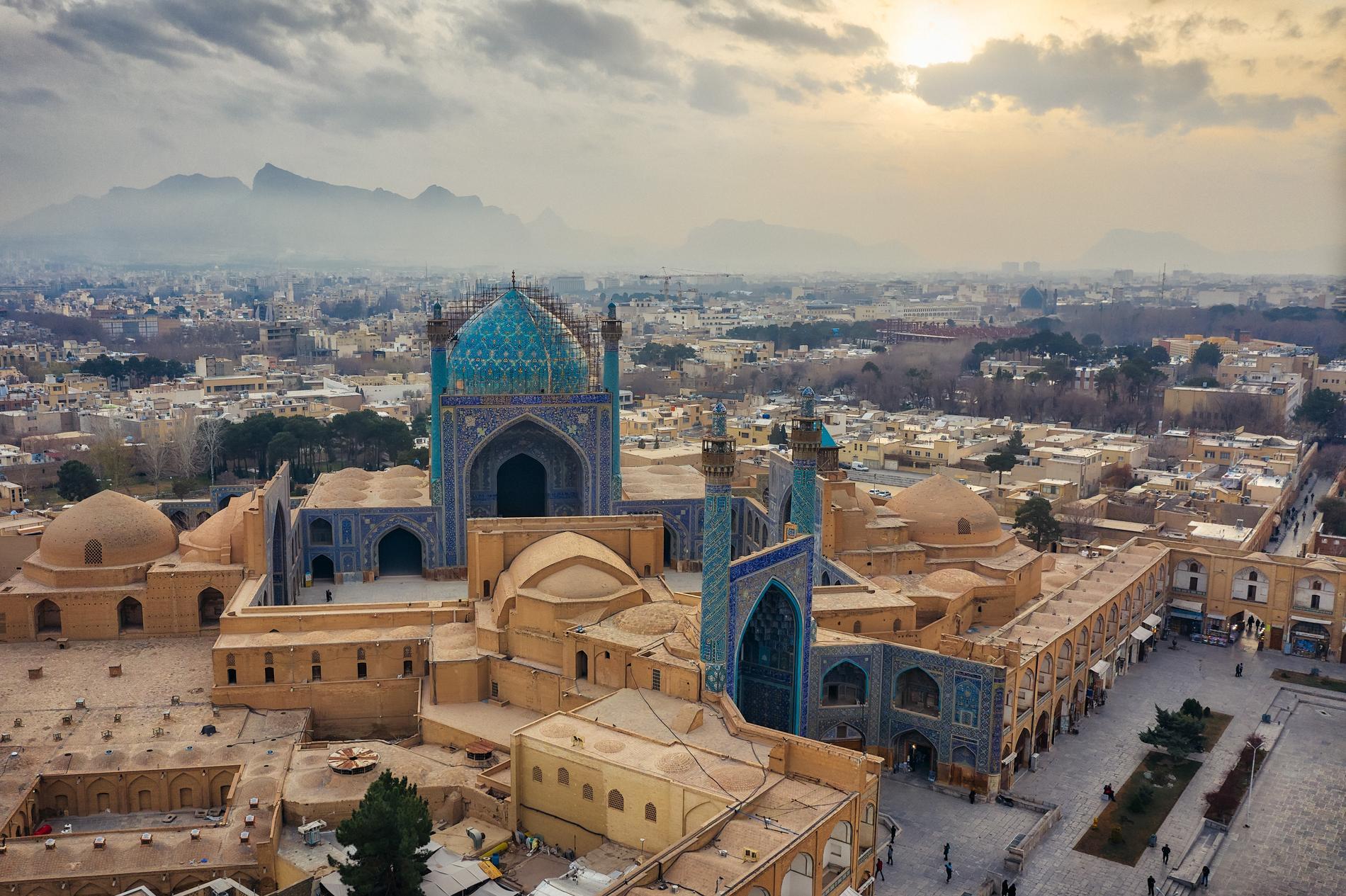 Esfahan är Irans tredje största stad.