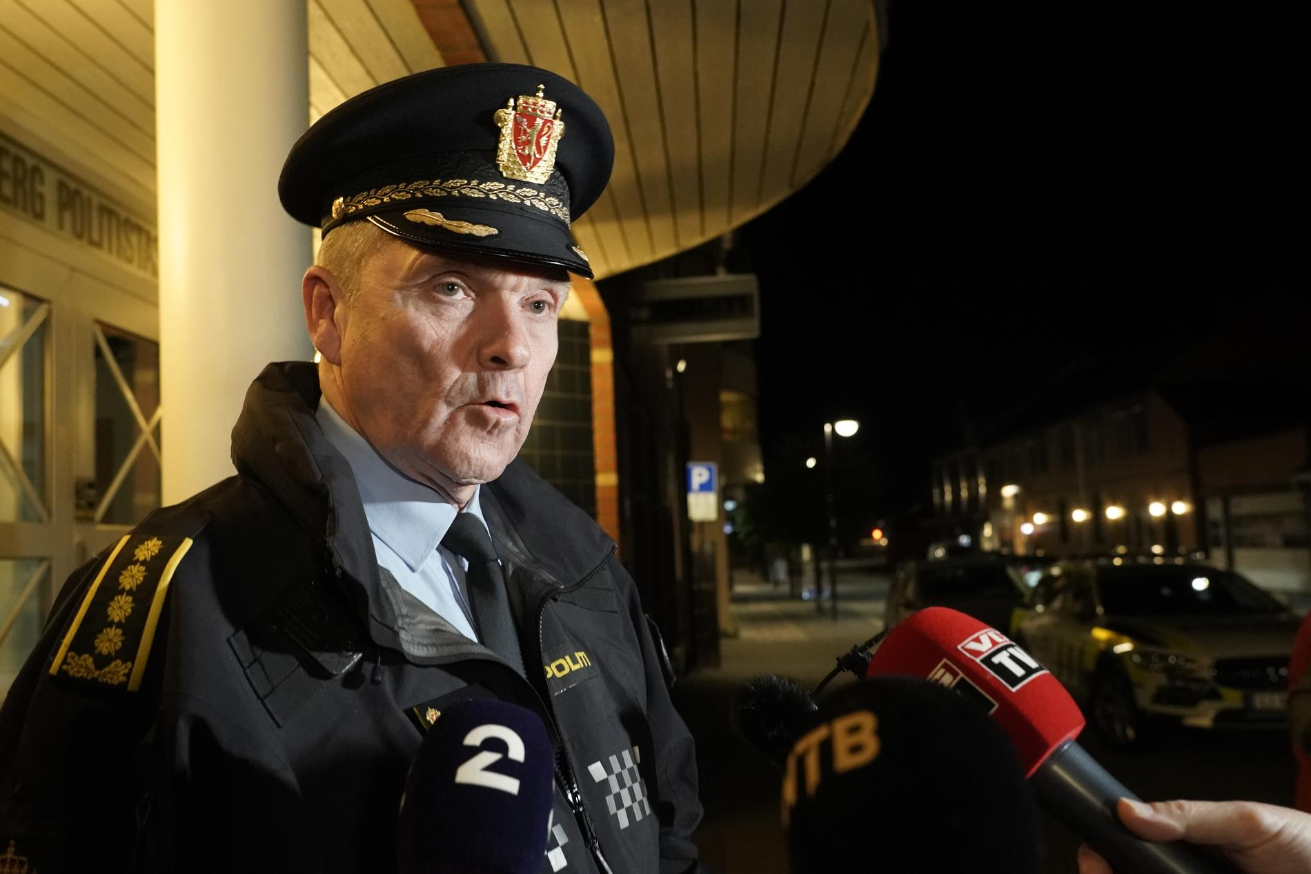 Polischef Øyvind Aas leder polisarbetet.