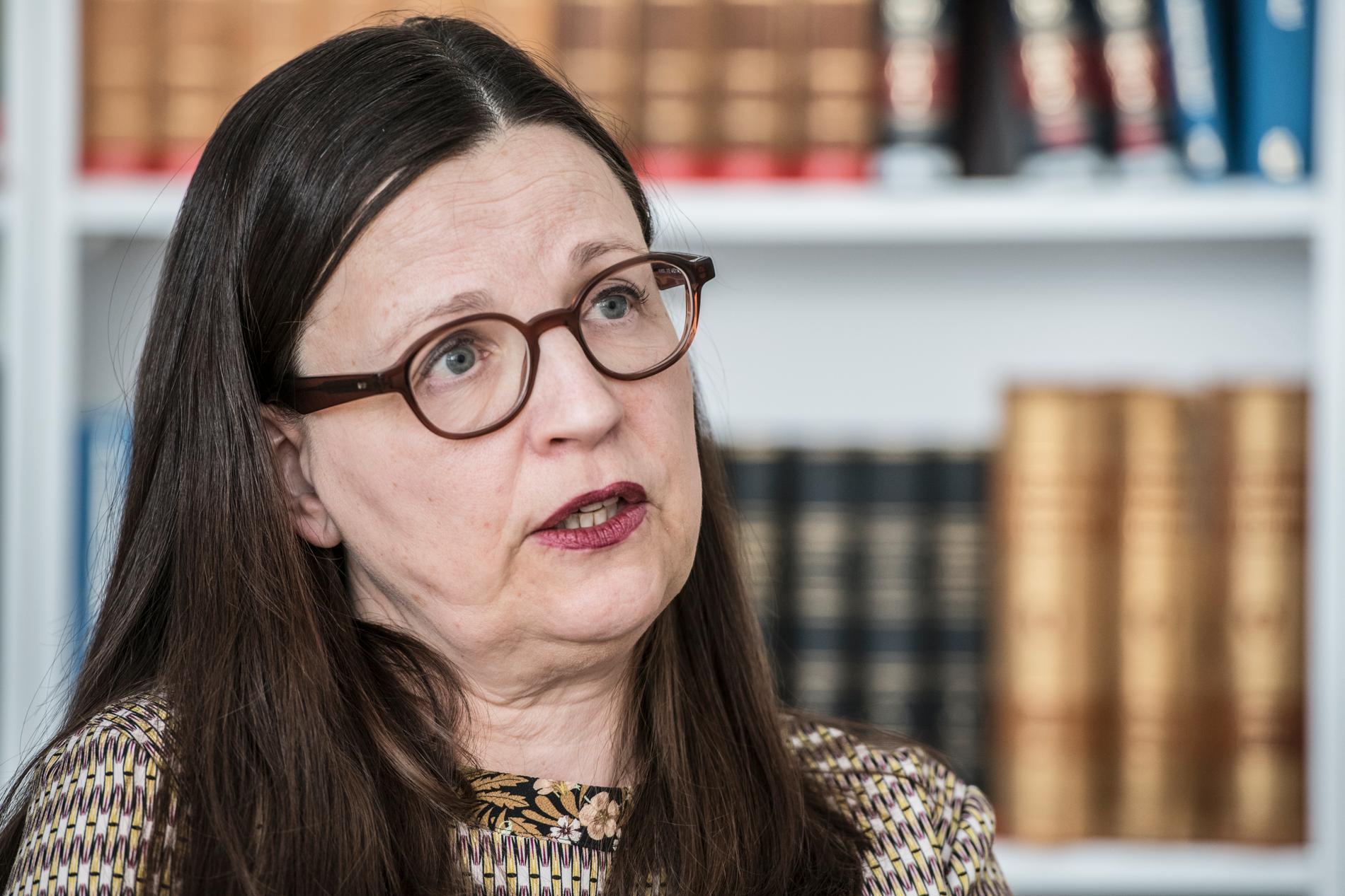 Utbildningsminister Anna Ekström (S) öppnar för obligatorisk sommarskola. Arkivbild.