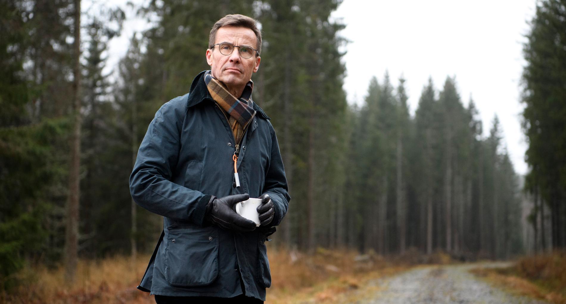 Ulf Kristersson har insett att klimatfrågan är ett rejält hot – mot hans regeringsmöjligheter.