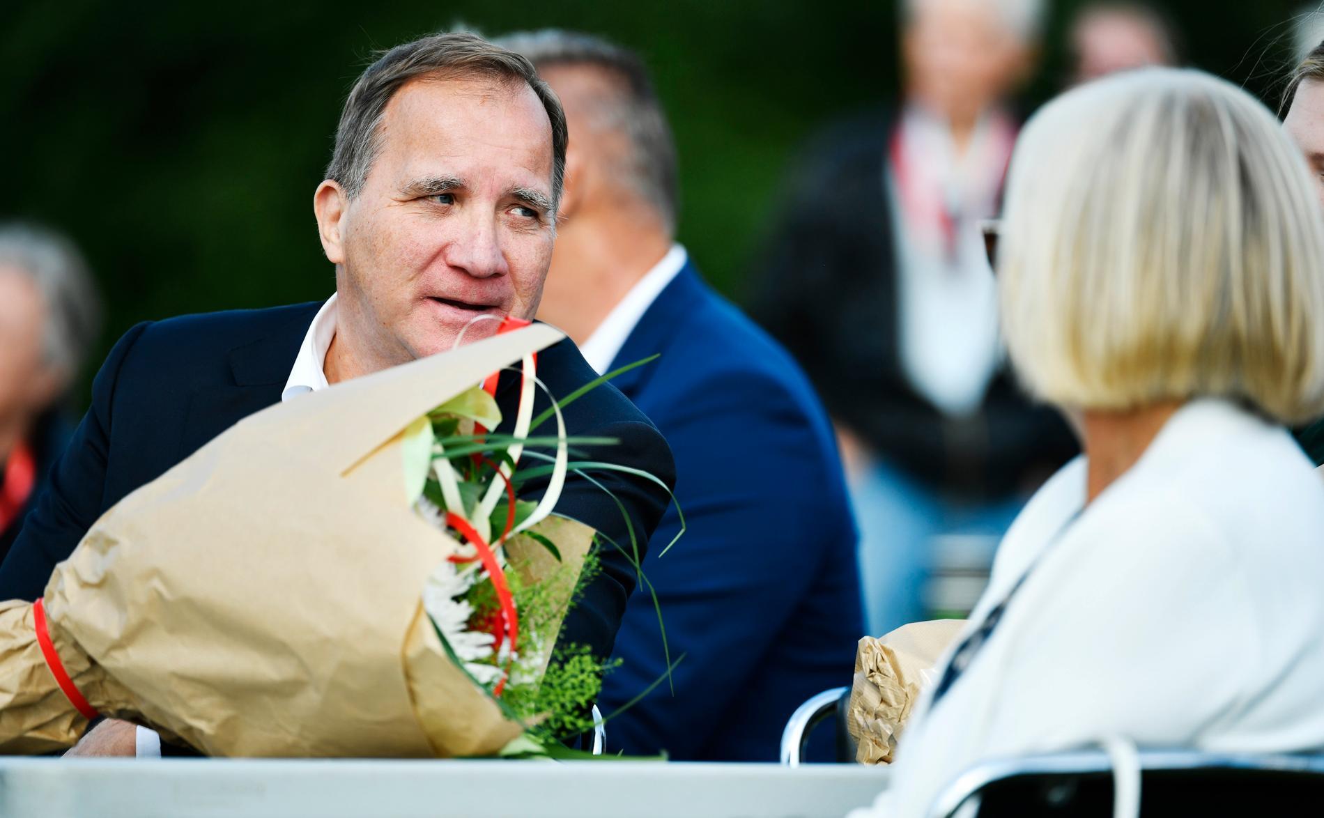 Snart får Stefan Löfven mer tid att umgås med hustrun Ulla. I sitt sommartal meddelade statsministern att han kommer att avgå i höst.