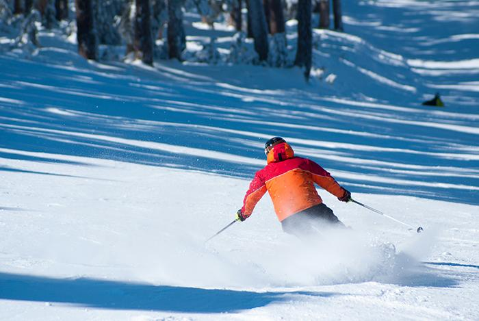 Snart kan du åka skidor vid Idre Himmelfjäll.