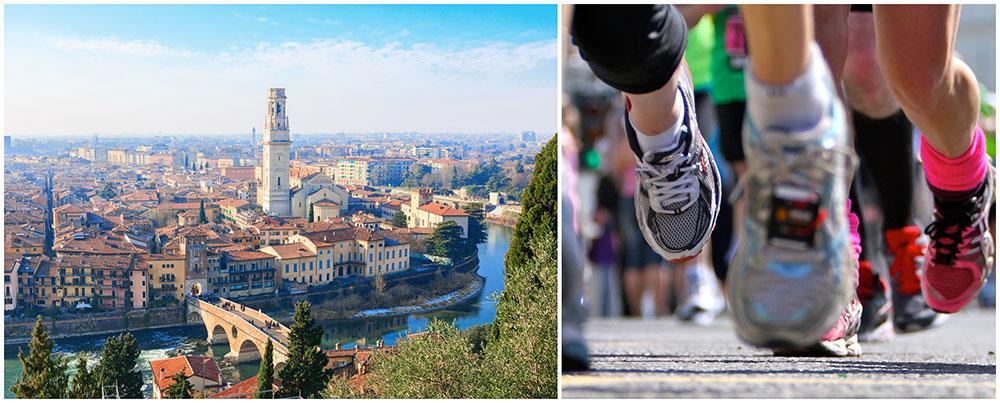 Spring maraton i Verona.