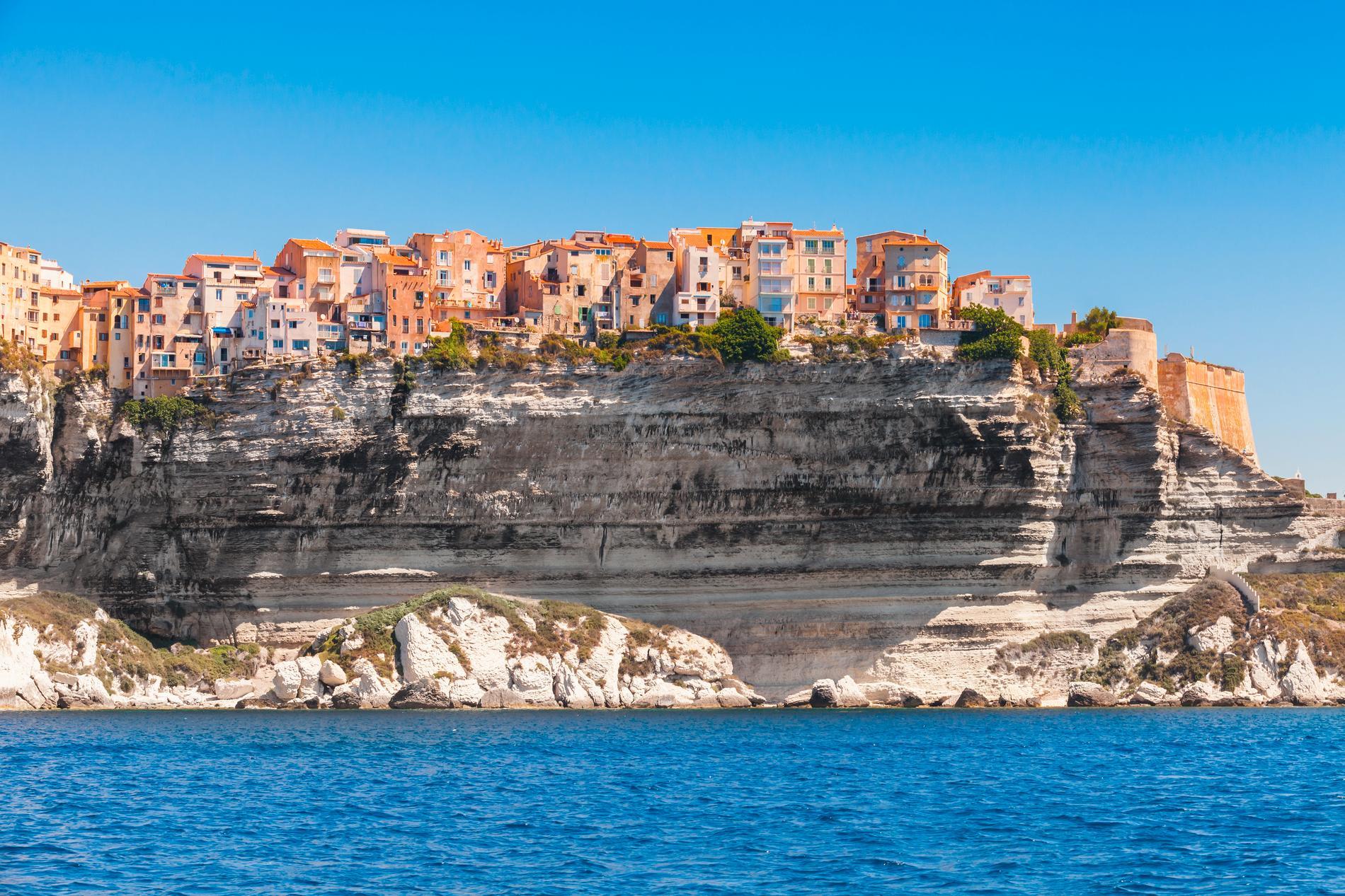 Bonifacio kallas även staden på klippan.