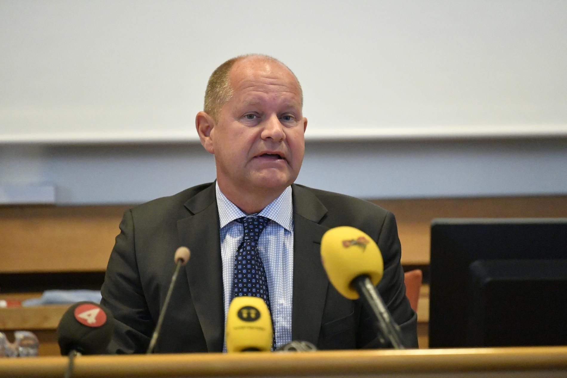 Rikspolischef Dan Eliasson avgår och blir generaldirektör för MSB.
