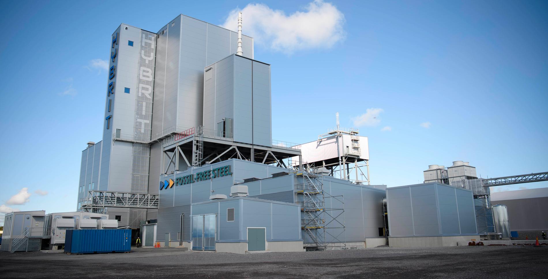 Hybrits försöksanläggning i Luleå har nu framställt det första kol och fossilfria stålet
