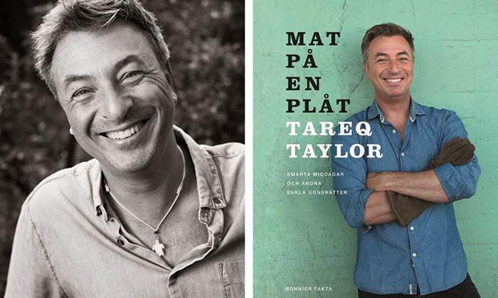 "Recept ur Tareq Taylors nya kokbok ""Mat på en plåt""."