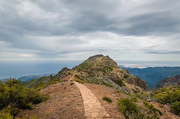 Vacker vandring i lavalandskap – Madeira.