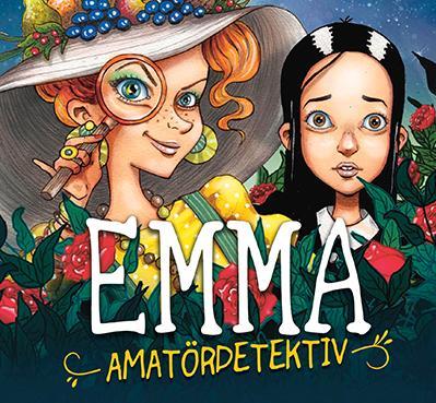 """""""Emma amatördetektiv"""" är den första boken ur bokserien Södervikens mysterier."""