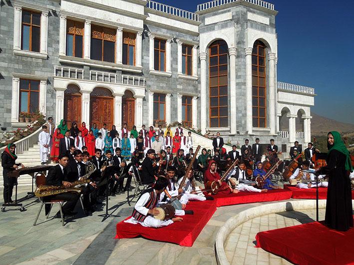 Afghan National Institute of Music öppnade 2008 och har nu fått Polarpriset tillsammans med metalbandet Metallica.