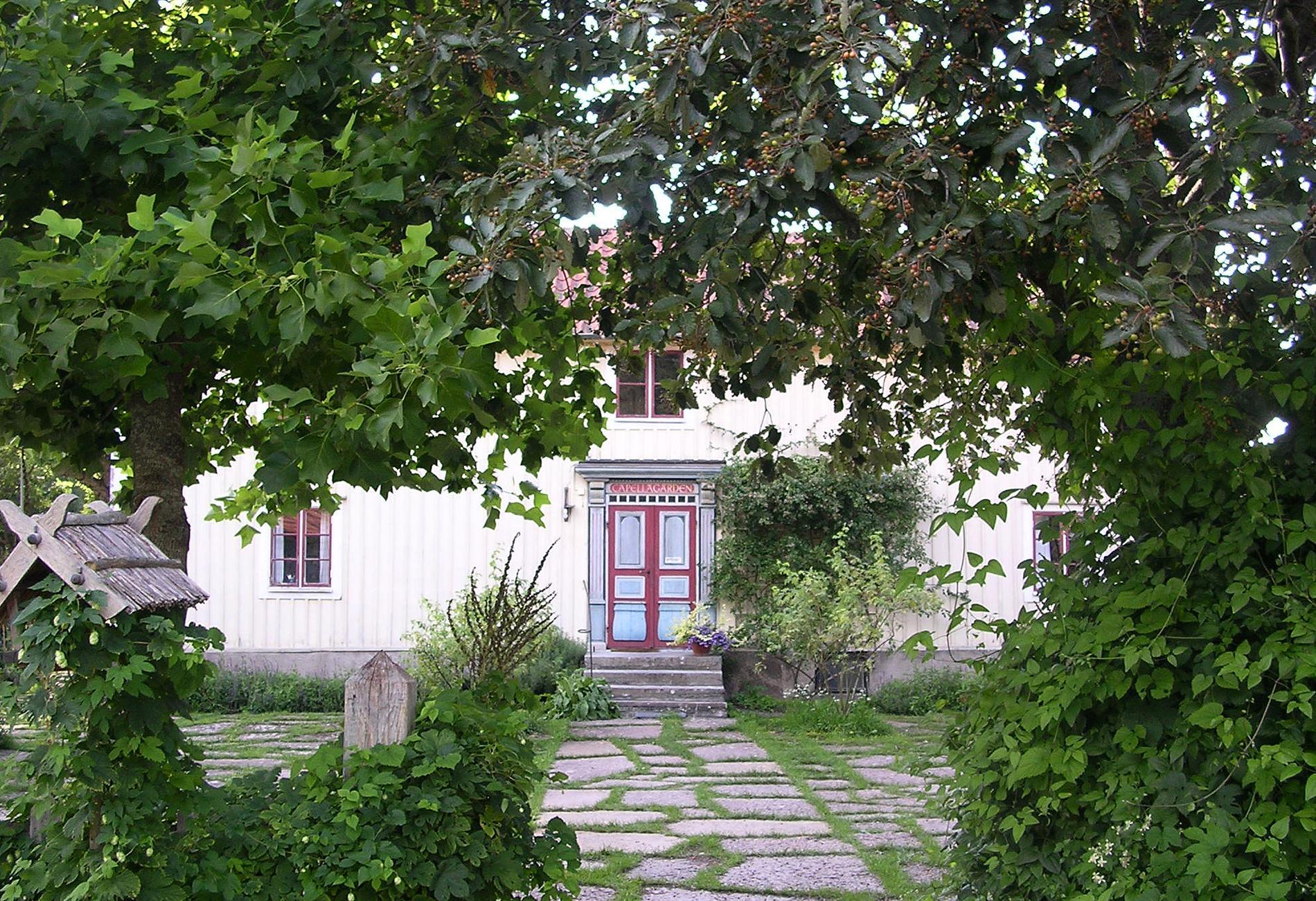 Capellagården i Vickleby på Öland.