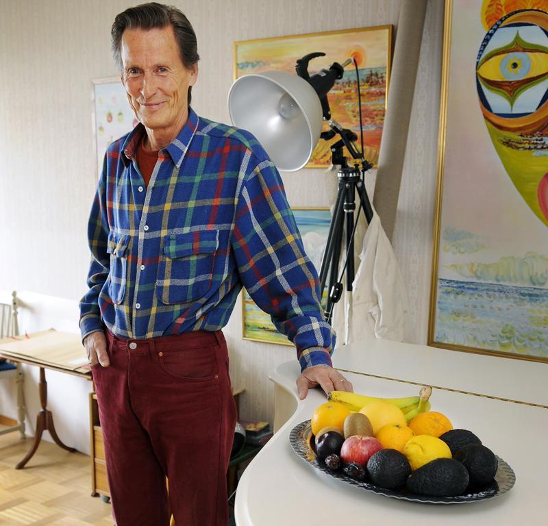 Tord Lyseving har varit frukterian sedan 1984 och inte haft en sjukdag sedan dess.