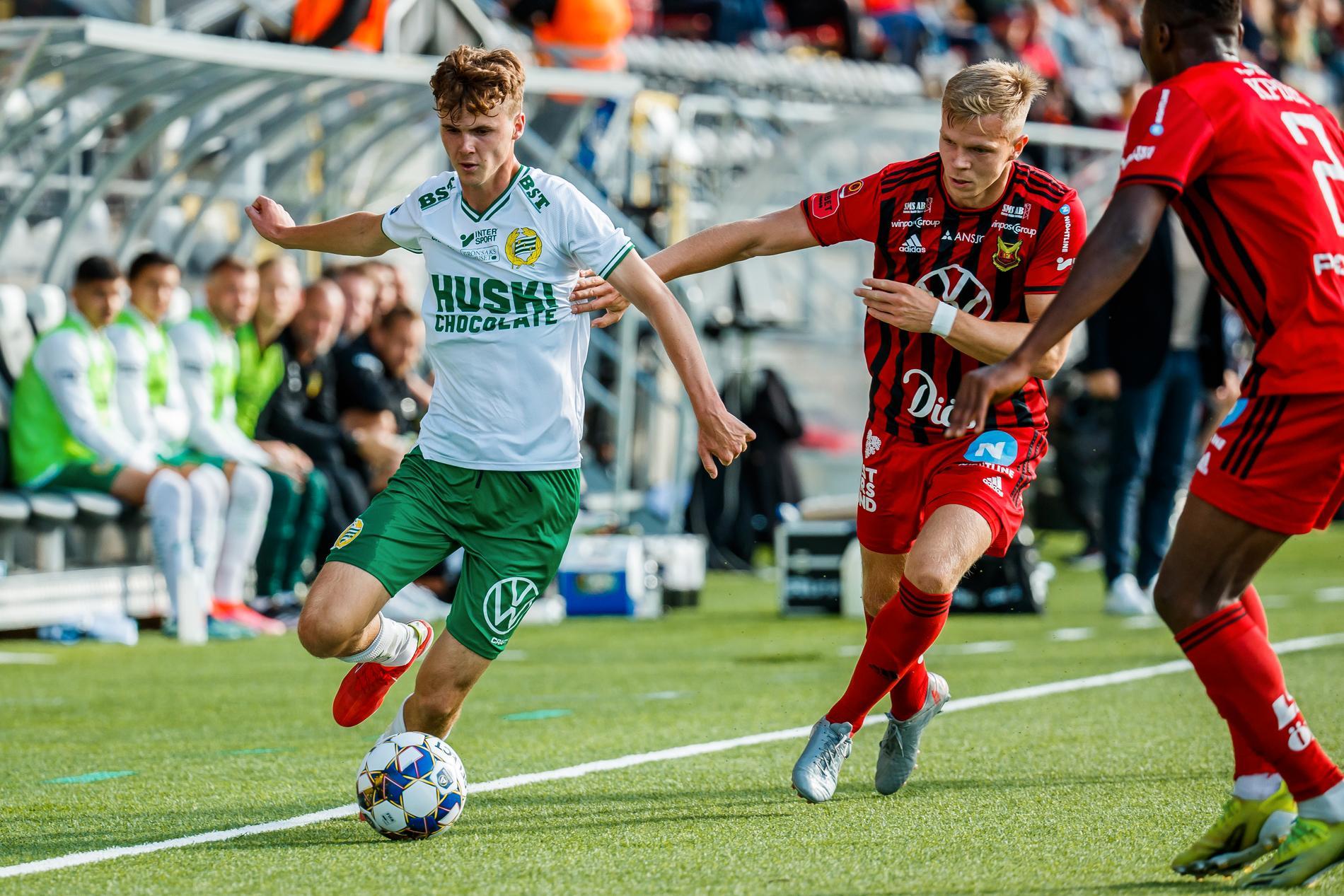 Williot Swedberg startade mot Östersund.