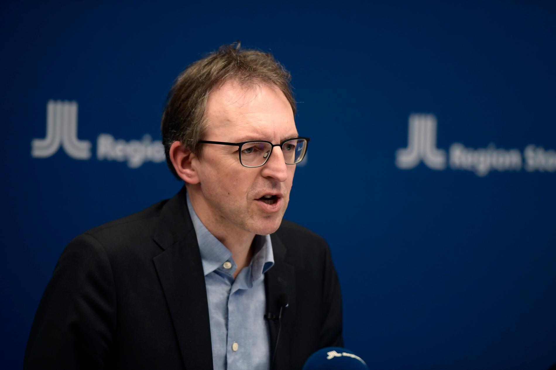 Magnus Thyberg är vaccinsamordnare i Region Stockholm.