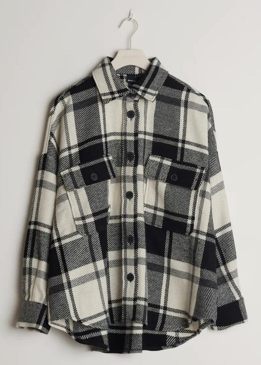 Skjortjacka från Gina tricot.
