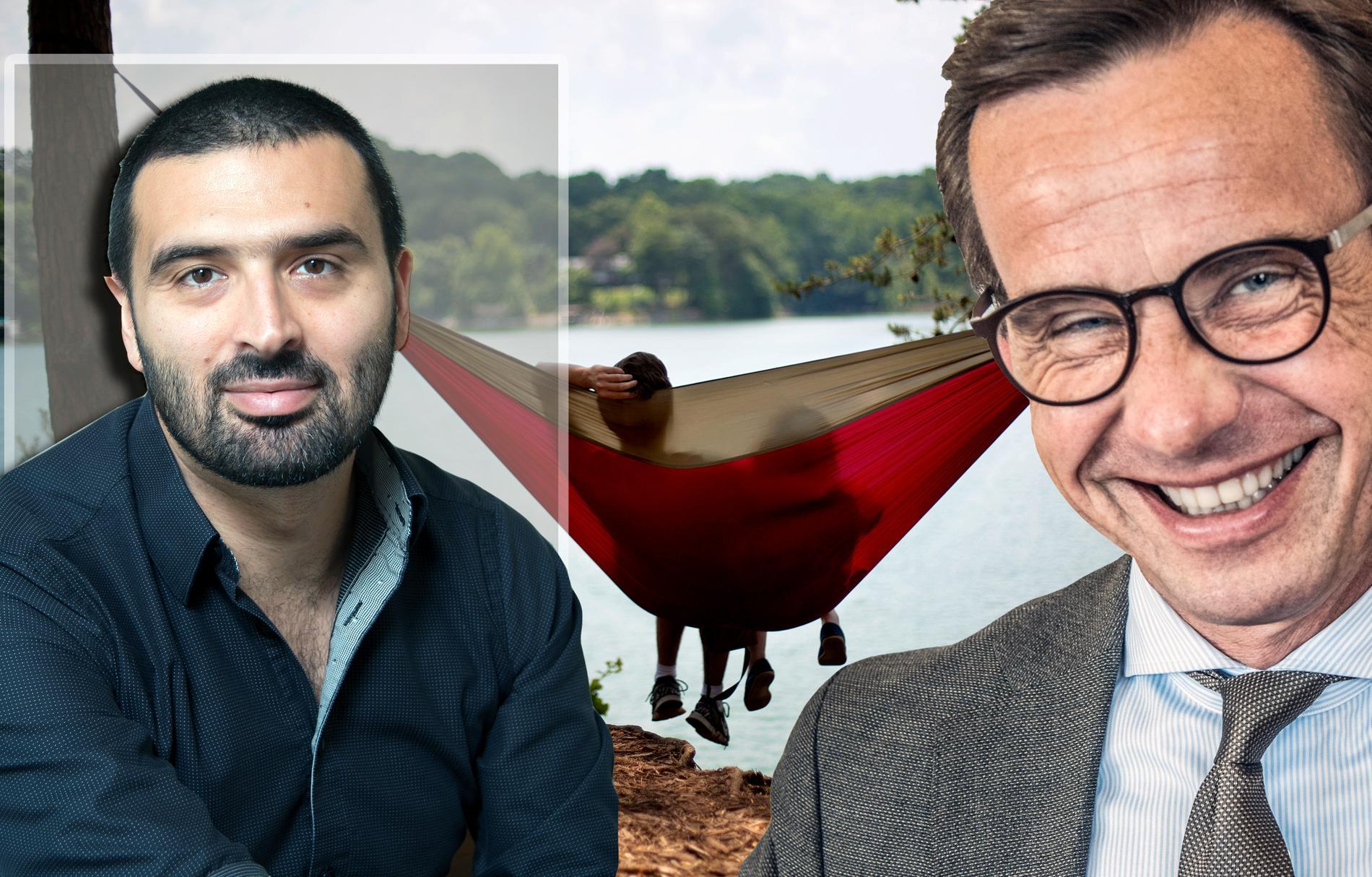Moderaterna har varit emot de flesta reformer som gjort livet bättre för vanligt folk, skriver vänsterpartisten Ali Esbati