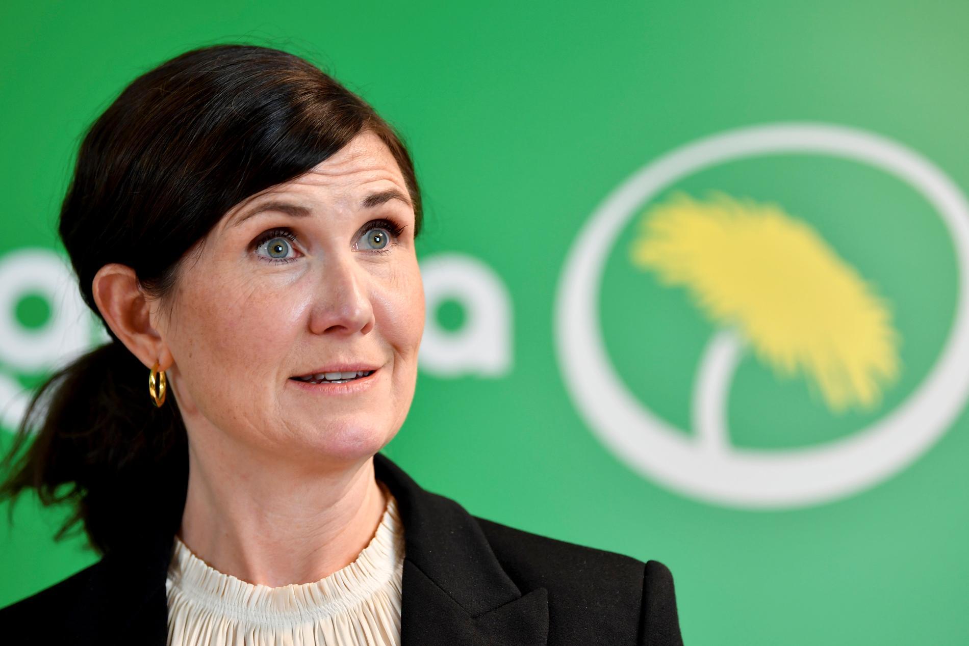 Miljöpartiets språkrör Märta Stenevi. Arkivbild.